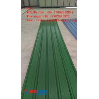 Buy cheap Colorful Roof Tile Forming Machine / PVC Roof Forming Sheet Extrusion Machinery product