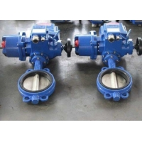 Buy cheap Stainless Steel ANSI Wafer Butterfly Valve With Manual Wheel product