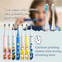 Buy cheap Waterproof Kids Electric Toothbrush , Usb Charging Baby Electric Toothbrush product