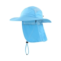 Buy cheap Hiking Neck Cover 55cm Fisherman Bucket Hat Digital Printed product