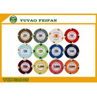 High Quality 1000 Clay Poker Chips For Supermarket / Chain Shops