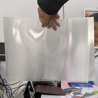 Buy cheap 2021Hot sale 3D lenticular sheet clear PET Lenticular 75 lpi lens sheet 3D flip lenticular lens sheet product