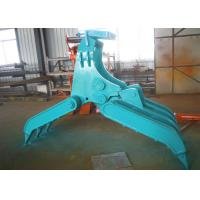 Buy cheap Wide Design Mechanical Grapple / Grab for Kobelco SK200 Excavator product