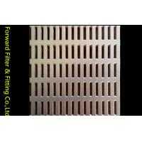 Long Hole Stainless Steel Perforated Sheet Metal Panel For Internal Combustion Engine Filter