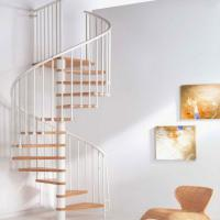Buy cheap High quality wooden spiral stairs price product