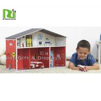 Buy cheap Custom Corrugated Cardboard Toys cardboard paper dollhouse for children from wholesalers