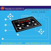 Buy cheap LED Membrane Switch Keypad / Tactile Membrane Sticker For Domestic Appliance product