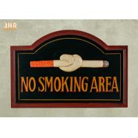 Buy cheap No Smoking Wooden Wall Signs Hand Painting product
