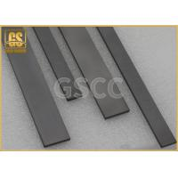 Buy cheap High Precision Tungsten Carbide Square Bar , Flat  Wear Strips product