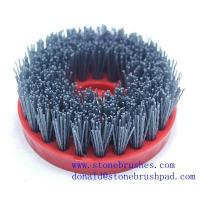China snail lock abrasive brush for antique stone surface on sale