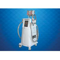Buy cheap Cryolipolysis+cavi+lipolaser+bodyrf+face rf+vacuum rf slimming machine from wholesalers
