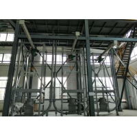 Buy cheap 12T/H SS304 Bulk Bag Discharger With Electric Hoist Lifting System product