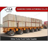 Buy cheap Multi Axles Hydraulic Modular Trailers / Transportation Trailer Heavy Large Beams product