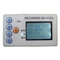 Buy cheap ALK 4 in 1 Remote control decoder fixed frequency remote decoding product