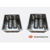 Buy cheap Chiller Water Cooled Heat Exchanger Evaporator Coil For Carrier Air Conditioner spiral coil heat exchanger product