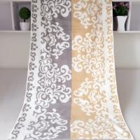 Buy cheap Rectangular Royal Velvet Cotton Bath Towels Reversible Solid Dyed Dobby product