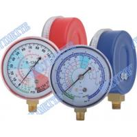 Buy cheap Refrigeration Freon Pressure Gauge For Testing / Recharging Pressure Thermometer product