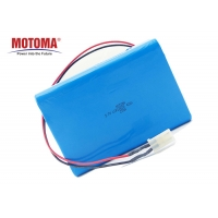 Buy cheap High Power Toy Rechargeable Battery 3.7V 18650 42Ah With Wires BMS product