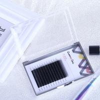 Buy cheap Hand Made Individual Eyelash Extensions 0.05mm Y Shape Synthetic Hair Material product
