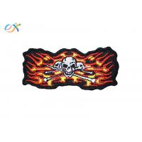 Buy cheap Punisher Skull Irregular Custom Motorcycle Patches With Merrow Edge product