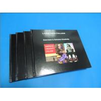 Buy quality Commercial Black glossy paper Hardcover Coffee Table Book Printing Services at wholesale prices