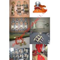 Buy cheap Cable guides,Cable rollers,Corner roller,Hoop Roller,Straight line bridge roller product
