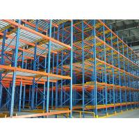 Buy cheap Live Dynamic Storage Carton Flow Rack Bule Coating For Industrial Warehouse product