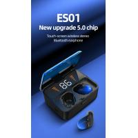 Buy cheap Touch-Screen Wireless Stereo Bluetooth Earphone New Upgrade 5.0 Chip ES01 product