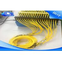 Buy cheap FTTH SC LC FC ST  UPC APC Fiber Optic Patch Cord Cable Outdoor / Indoor product
