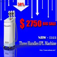 Buy quality 50% discount three handles ipl diode laser hair removal machine price at wholesale prices