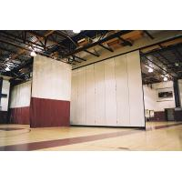 China Interior Decorative Aluminium Profile Operable Gymnasium Wooden Movable Partition Wall on sale