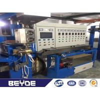Buy cheap Folds W Type / U Type 5.5Kw Cable Making Machine PVC Plastic Insulated Wire Extrusion product