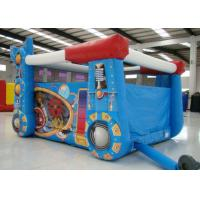 Buy cheap Robot Design Bounce House With Slide , Commercial Castle Bounce House 5.7 * 4.7 * 3.7 product