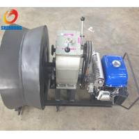 Buy cheap Gas Powered Winch 3Ton Cable Drum Winch Threading Machine Yamaha Engine for pulling hoisting product