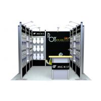 Buy quality Black Modular Booth Systems , Truss Tradeshow Booth Displays For Exhibition at wholesale prices