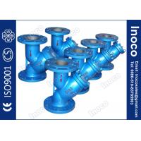 Buy cheap BOCIN DN80 Oil Line Threaded Type y Strainer Filter , Bolted Or Threaded Covers product