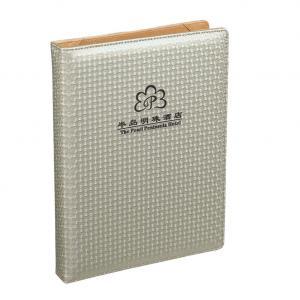 China Hotel directory folder,ring binder menu ,hotel directory holder on sale