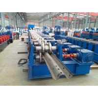 Buy cheap 312 W Section / Highway Guardrail Forming Machine 3.2mm Thickness Gearbox from wholesalers