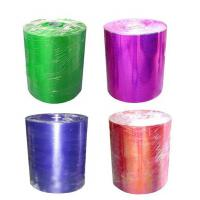 Buy quality PET Materials Christmas Gift Ribbon 1m And 50cm Width Polypropylene Ribbon at wholesale prices