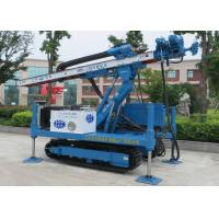 Buy cheap ISO9001 Dth Hammer Anchor Drilling Rig Foundation Piling Machine MDL-135H from wholesalers
