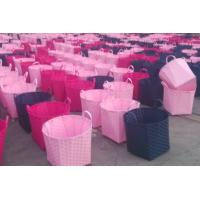 Buy cheap laundry basket 100% handwoven Paper material   with lining,big size,hamper, product