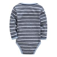 Buy cheap Autumn Stripe Organic Cotton Long Sleeve Baby Romper Customized Color product