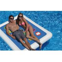 China Swimline Smart Tablet Double Float Inflatable Swimming Pool Toy Raft Water Fun on sale