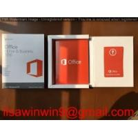 Buy cheap Essentials Upgrade Microsoft Office 2016 Key Code License For Mac , PC product