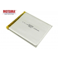 Buy cheap Motoma Rechargeable Lipo Battery 3.7 V 2200mAh For Medical Device product