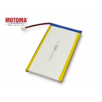 Buy cheap High Temperature Rechargeable Polymer 3.7V4650mah Wearable Device Battery for Bluetooth Headset product