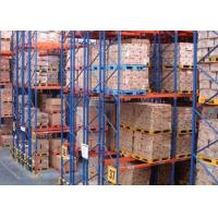 Buy cheap Logistic equipment heavy duty storage double deep pallet racks product