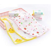 Buy cheap Simple Infant Baby Accessories With Reactie Dyes Printed Colorful Lovely Handkerchieff product