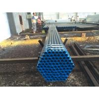 Buy cheap BS1387 ASTM A53 Welded Steel Pipe / Low Pressure Gas Pipe SCH160 XXS product