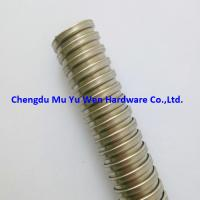 Buy cheap 1/2 bare stainless steel 304 electrical flexible conduit for cable management product